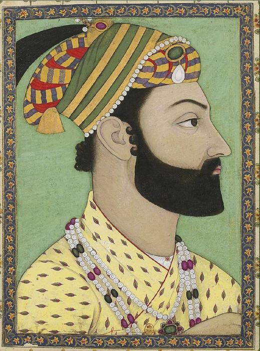 1757-Portrait_of_Ahmad-Shah_Durrani._Mughal_miniature._ca._1757,_.jpg