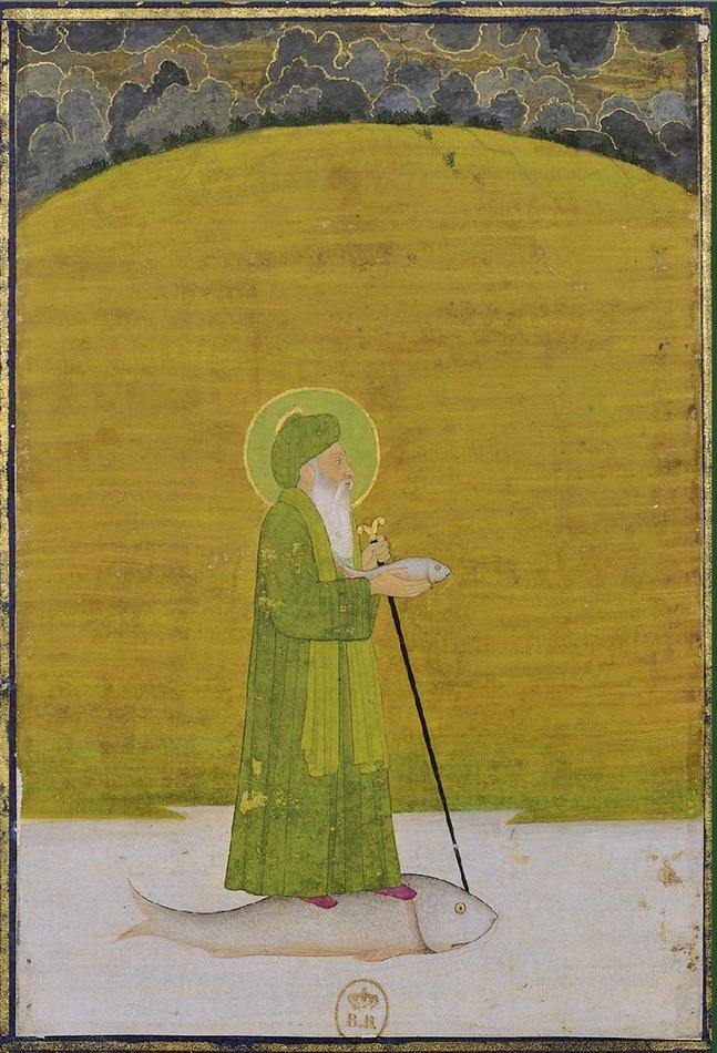 1760 _The_prophet_Khizr_Khan_Khwaja_ca._1760_.jpg