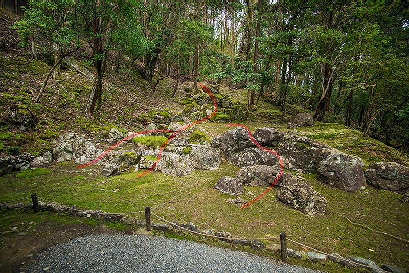 179.Сайхо-дзи.Сухой водопад.jpg