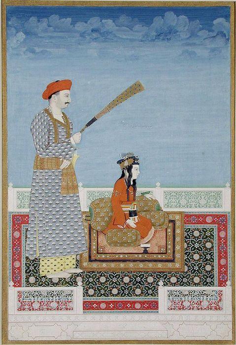 1806-11Khairullah_Mirza_Salim_Bahadur_Shahzadeh_and_Tarbiyat_Khan_180611_San_Diego_Museum_of_Art.jpg