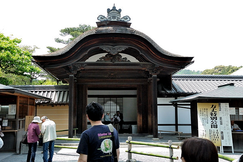 187.Кинкаку-дзи.Ворота карамон.jpg