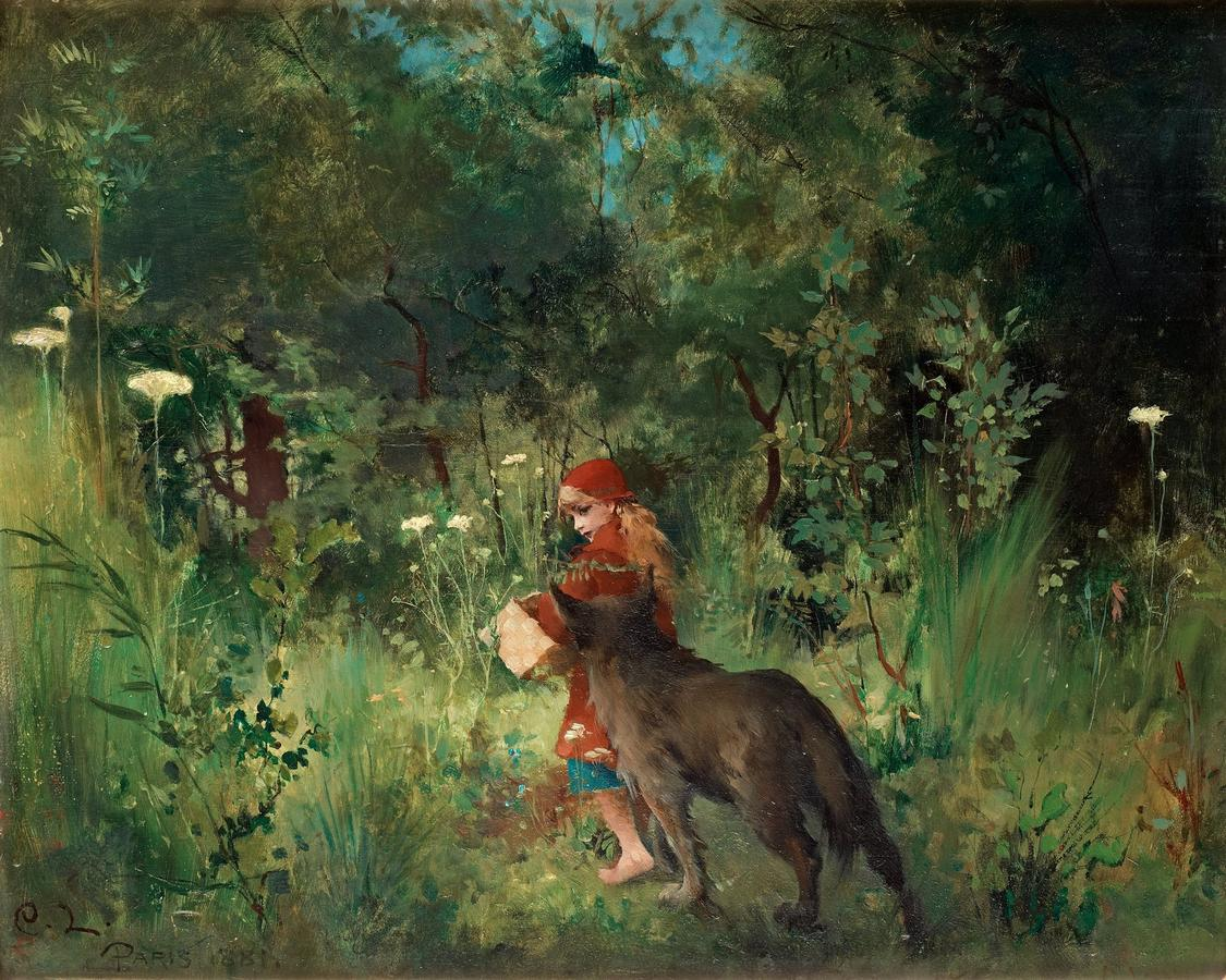 1881_Красная Шапочка в лесу.jpg