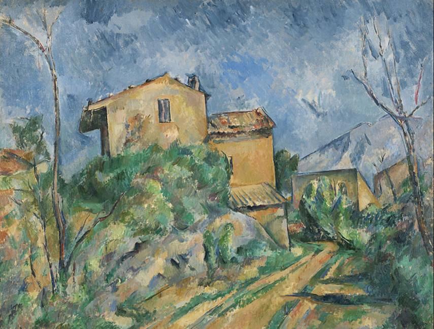 1895 Paul-Cézanne-Maison-Maria-with-a-View-of-Château-Noir-1895.jpg