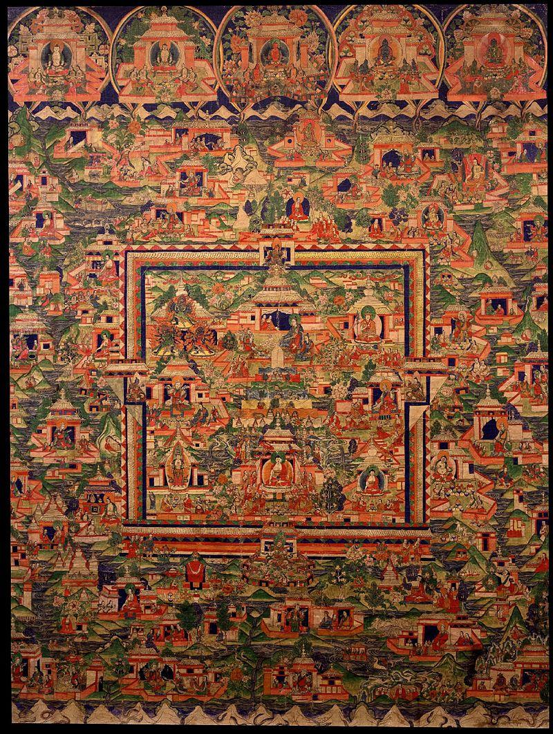 19-Homeland_of_Tonpa_Shenrab_Miwo_Olmo_Lungring._Tibet,_19th_century,_Rubin_Museum_of_Art.jpg