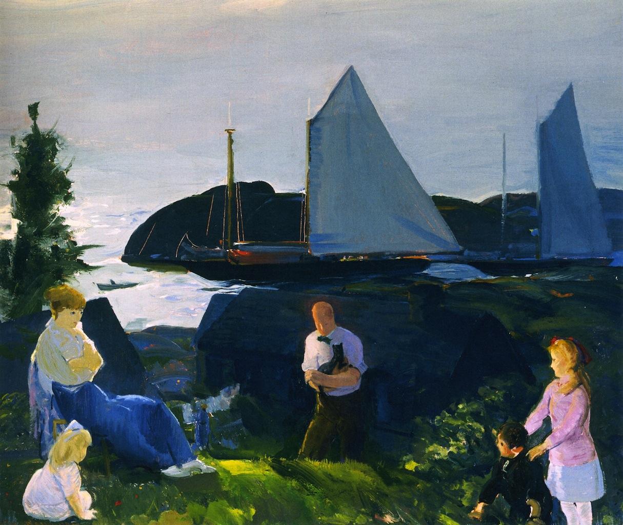 1914 Evening Group tempera on canvas 63.5 x 76.2 cm.jpg
