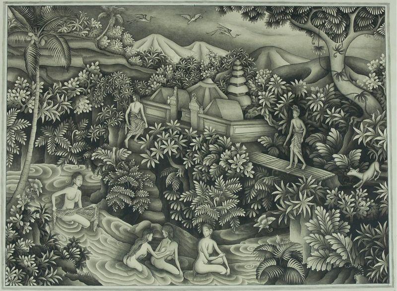 1948COLLECTIE_TROPENMUSEUM_Badende_vrouwen_en_een_man_die_toekijkt_TMnr_3525-45.jpg