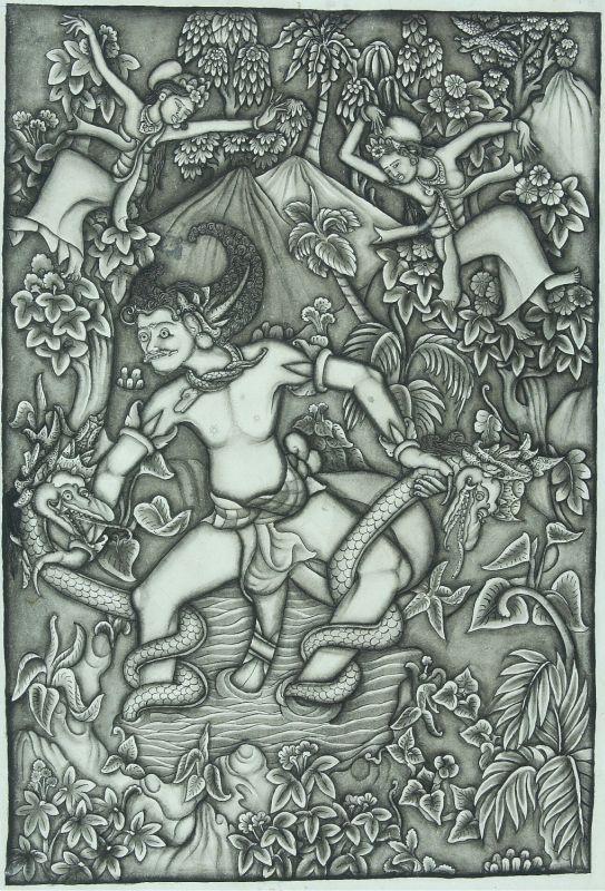 1948COLLECTIE_TROPENMUSEUM_Bima_vecht_met_twee_slangen_TMnr_3525-72.jpg