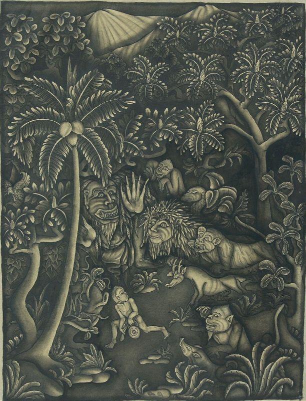 1948Een_kind_in_het_woud_met_wilde_en_demonische_dieren_TMnr_3525-63.jpg