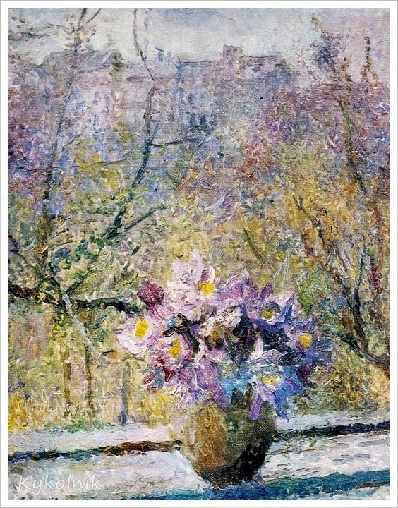 1979 Яблонская Татьяна Ниловна (Россия-Украина, 1917-2005)  «Весной» 1979 (2) (1).jpg