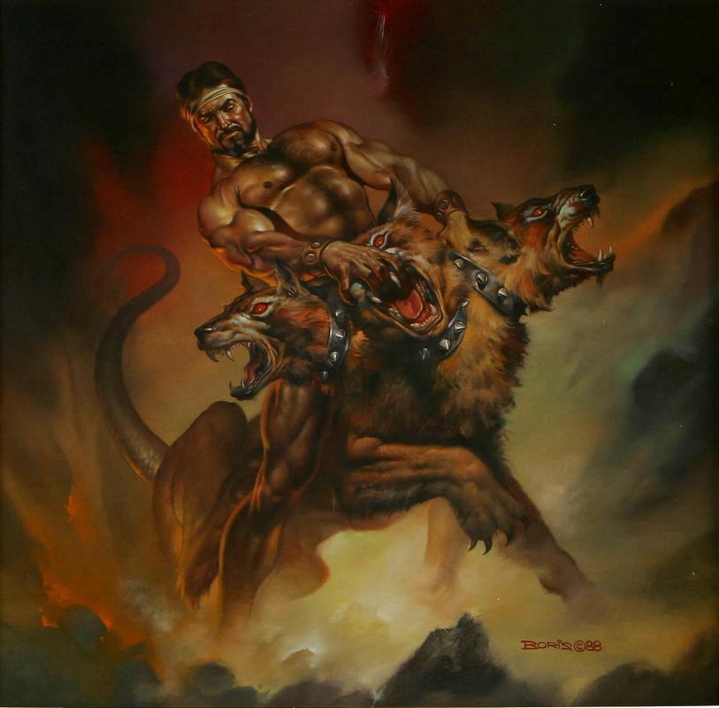1988_Геркулес и Цербер (Hercules and Cerberus), е.jpg