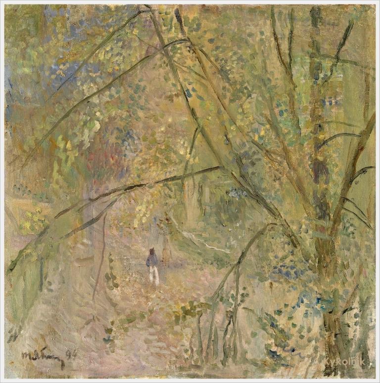 1994 Яблонская Татьяна Ниловна (Россия-Украина, 1917-2005)  «Весна» 1994.jpg