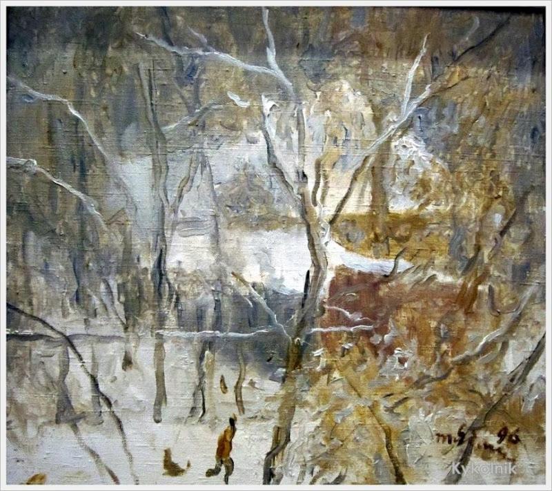 1996 Яблонская Татьяна Ниловна (Россия-Украина, 1917-2005)  «Зима» 1996.jpg
