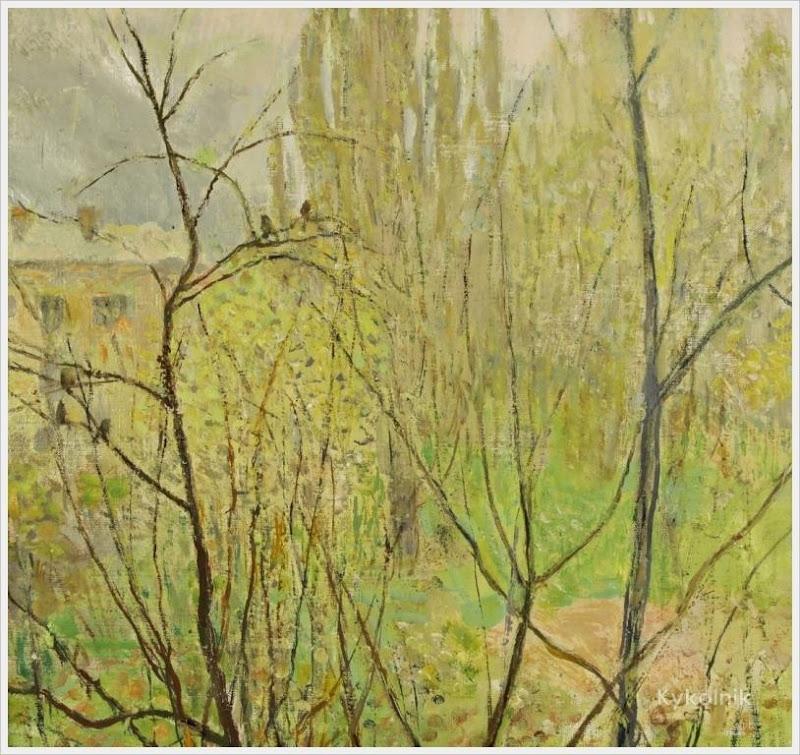 1998 Яблонская Татьяна Ниловна (Россия-Украина, 1917-2005)  «Киев» 1998.jpg