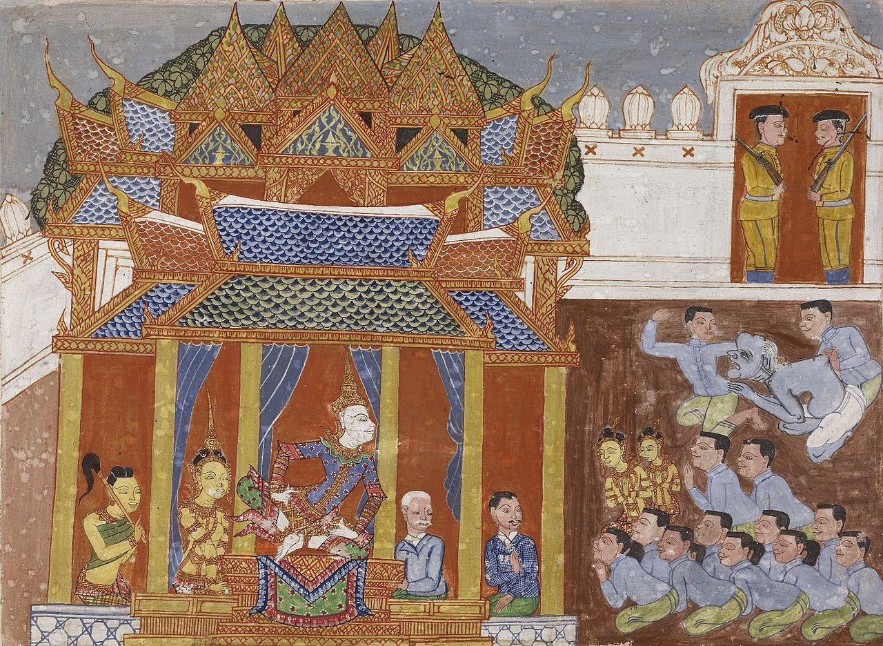 20 пер пол80px-Thai_-_Vessantara_Jataka,_Chapter_11_(Maharaja)_-_Walters_35249_-_A_T_Front.jpg