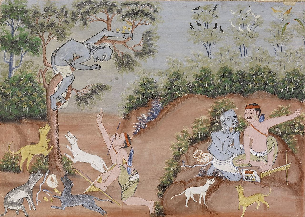20 i_-_Vessantara_Jataka,_Chapter_6_(The_Light_Forest)nt.jpg