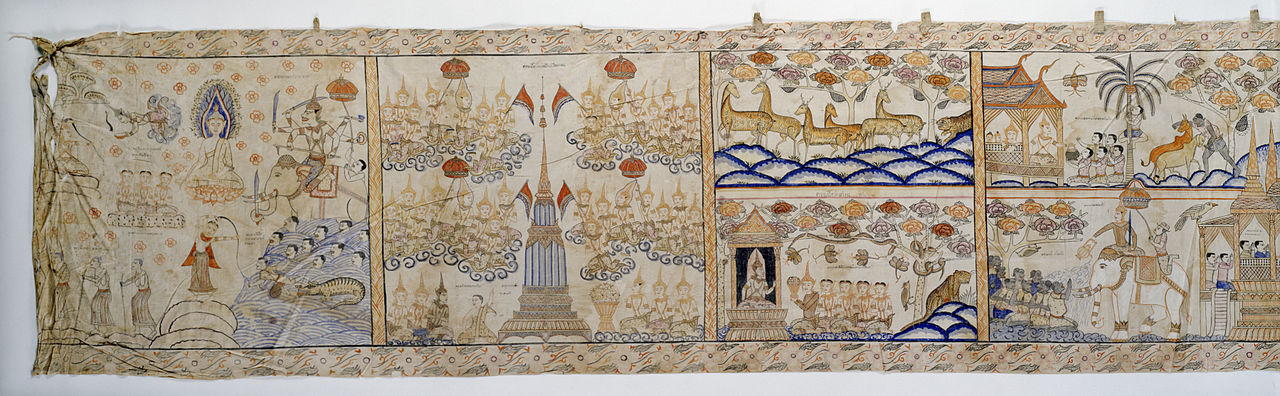 20 Thai_-_Vessantara_Jataka,_Narrative_Scroll_-_Walters_35256_-_View_A.jpg