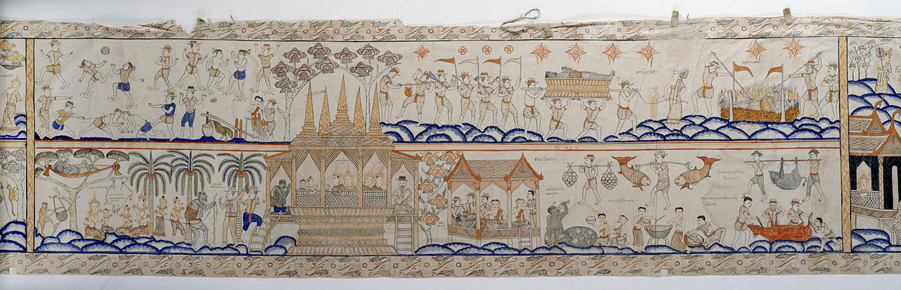 20 Thai_-_Vessantara_Jataka,_Narrative_Scroll_-_Walters_35256_-_View_F.jpg