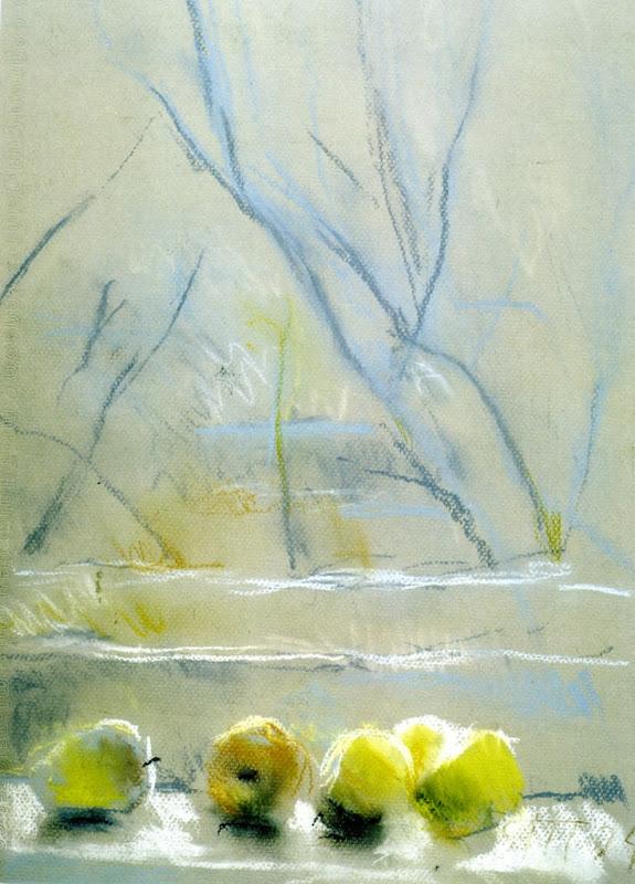 2004 Яблонская Татьяна Ниловна (Россия-Украина, 1917-2005) «Яблоки» 2004.jpg