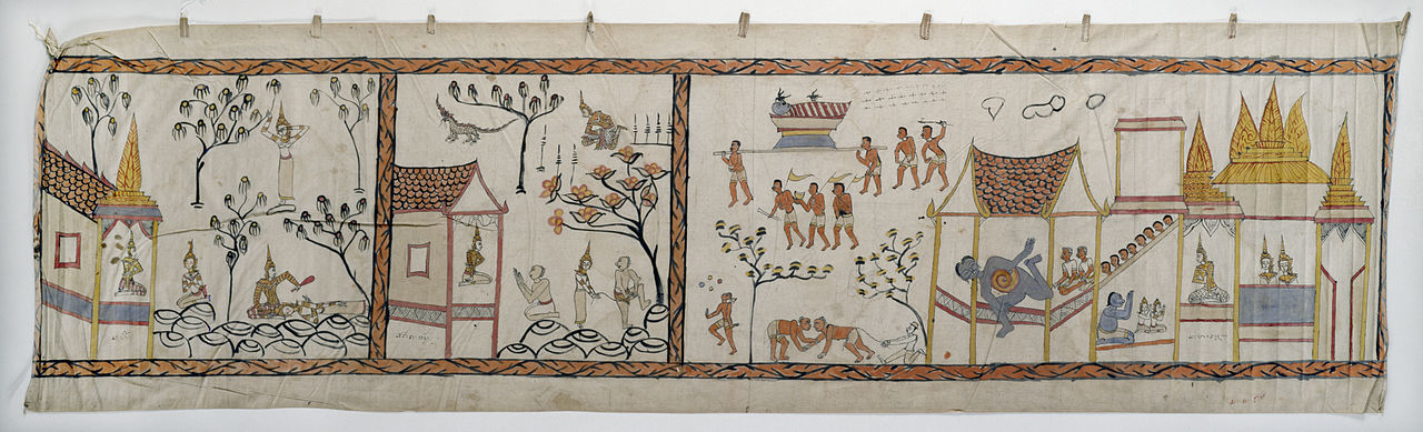 20Thai_-_Narrative_Scroll_-_Vessantara_Jataka_-_Walters_35290.jpg