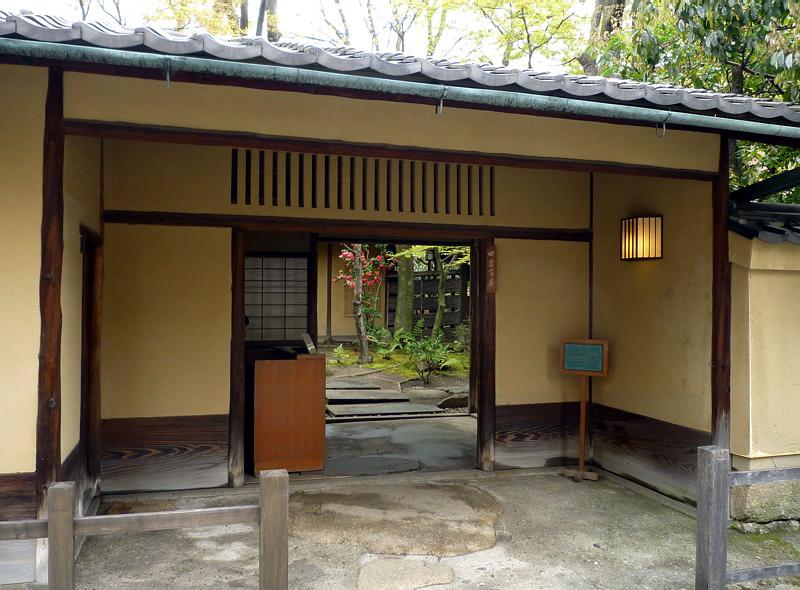 221.Китамура Киндзиро.Главные ворота.jpg