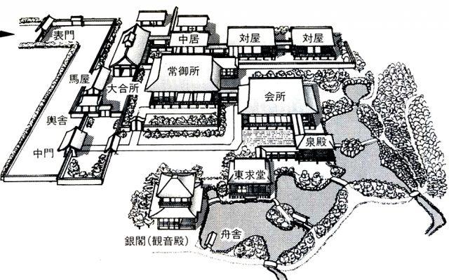 222.Гинкаку-дзи. План до XVII в..jpg