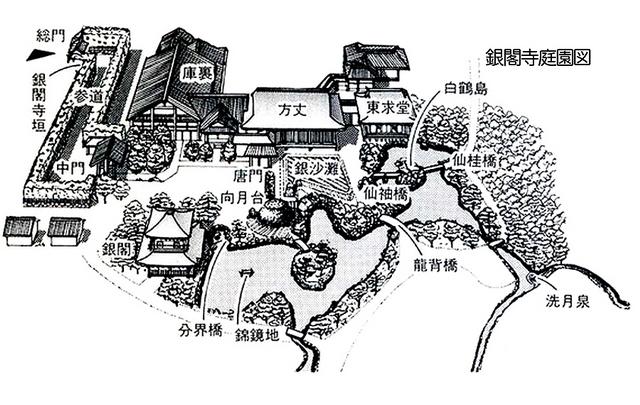 223.Гинкаку-дзи.План после XVII в..jpg