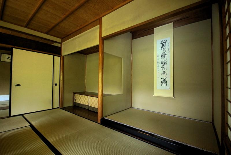 225.Китамура Киндзиро.Зал с токонома.jpg