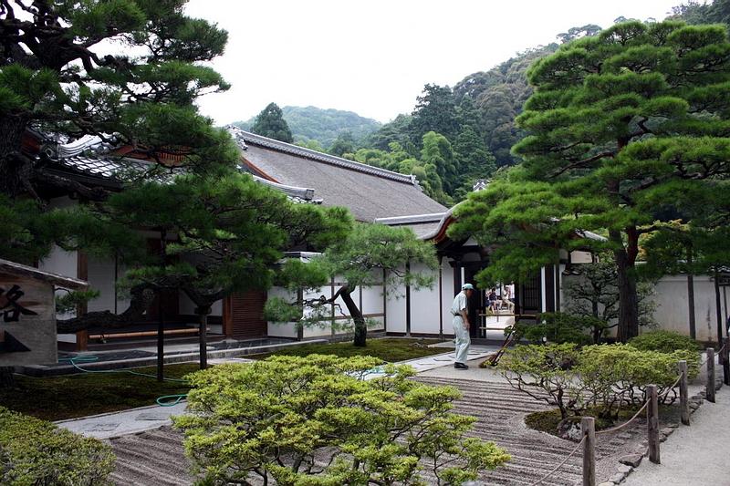 229.Гинкаку-дзи.Внутренний сад, Китайские ворота.jpg