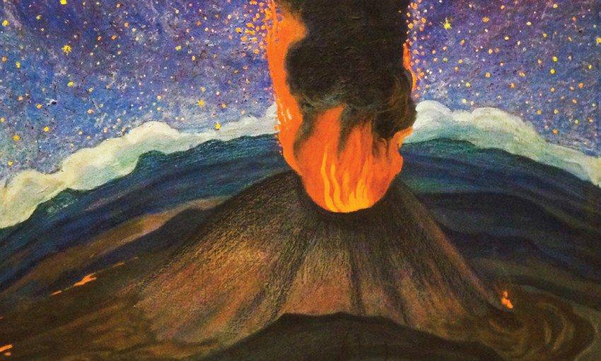 22volcan-en-la-noche-estrellada22-1950..jpg