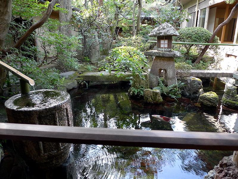 234.Китамура Киндзиро.Сад перед чайным павильоном.jpg