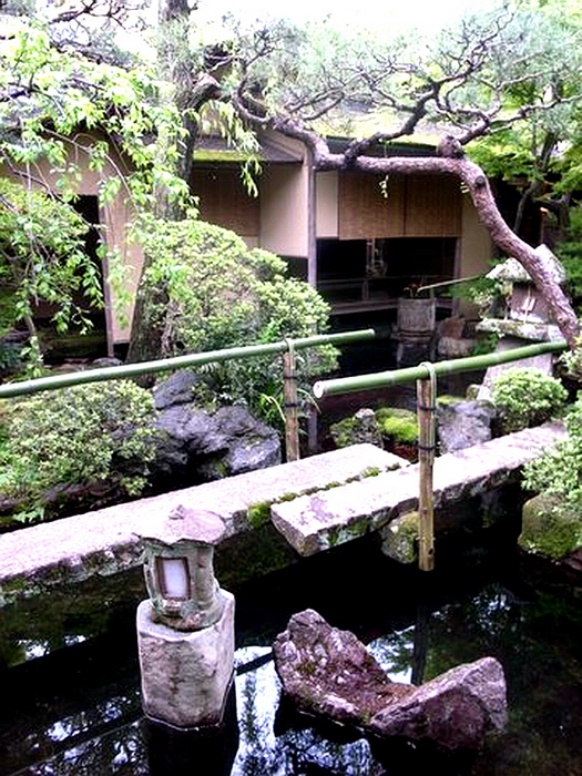 235.Китамура Киндзиро.Сад перед чайным павильоном 2.jpg
