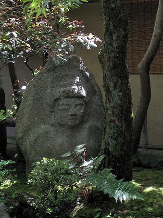 238.Китамура Киндзиро.Барельеф Будды 2.jpg