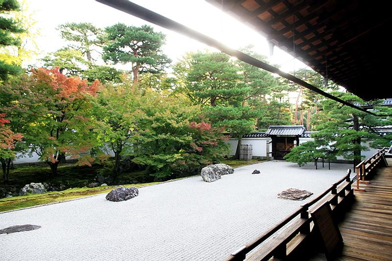 281.Сёкоку-дзи. Храм основатеря,Южный сад.jpg