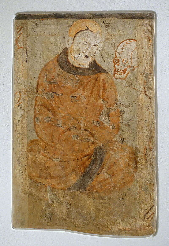 4-5Meditating_Monk,_Cave_of_the_Seafarers_(Cave_212),_Kizil,_341-417_AD,.JPG