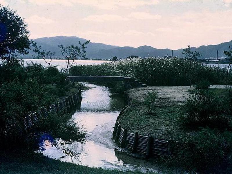 40.Нагао Кинъя.Ринсёэн.Озеро, речка.jpg