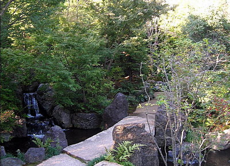 41.Масуно Сюммё.Самукава.Каменный мост..jpg