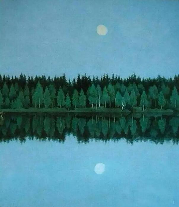 5.,Хигасияма Каи.Две луны.jpg