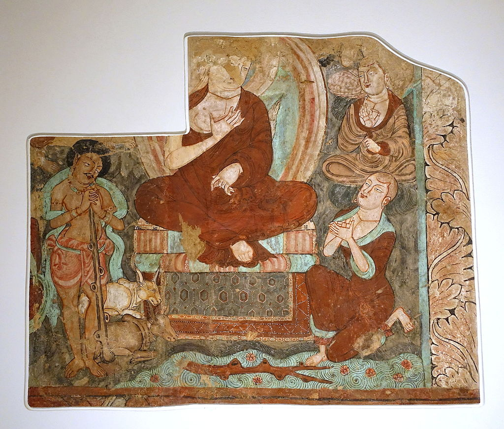 5 Nanda_the_cowherd,_Kizil,_Cave_of_the_Statues_(Cave_77),_406-425_AD,.JPG
