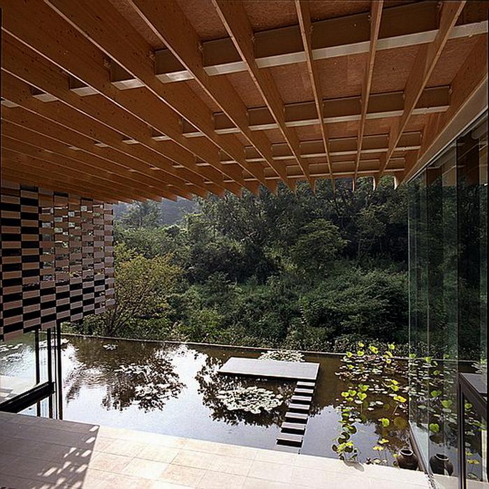 54.Кума Кэнго.Дом лотоса.Вид со второго этажа.jpg