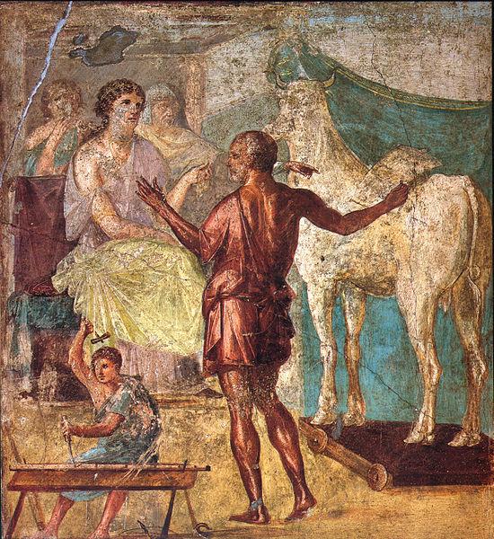 550px-Pompeii_-_Casa_dei_Vettii_-_Pasiphae.jpg