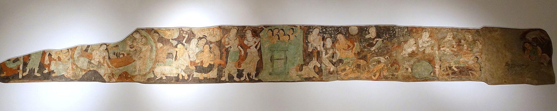 6-7The_Sronakotikarna_Legend,_Kizil,_Cave_of_the_Seafarers_(Cave_212),_561-637_AD,_.JPG