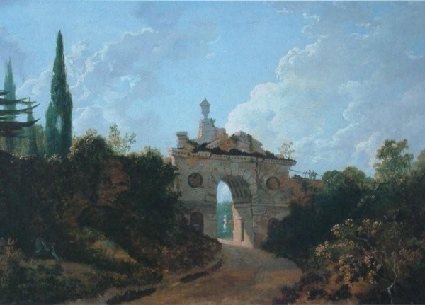 600_Richard Wilson, Ruined Arch in Kew Gardens.jpg