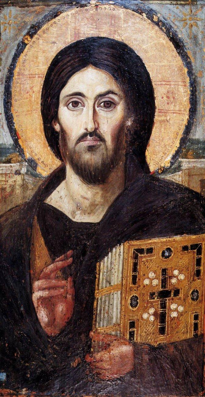 6d ICONS,_Sinai,_Christ_Pantocrator,_6th_century.jpg
