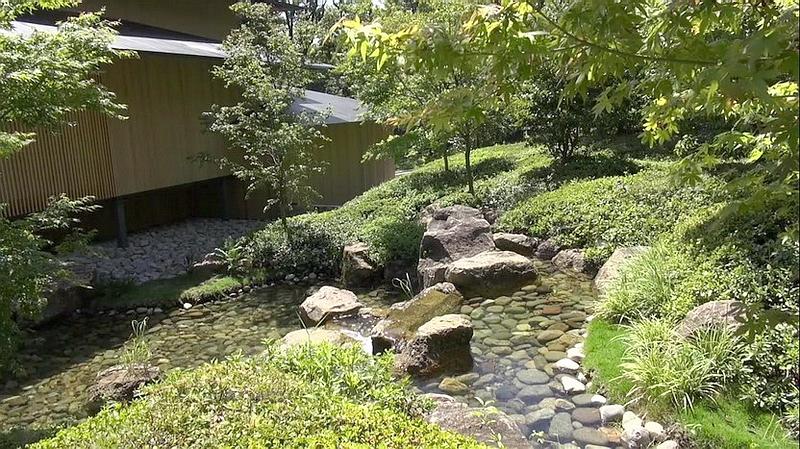 72.Кума Кэнго.Дом воды и вишен.Ручей.jpg