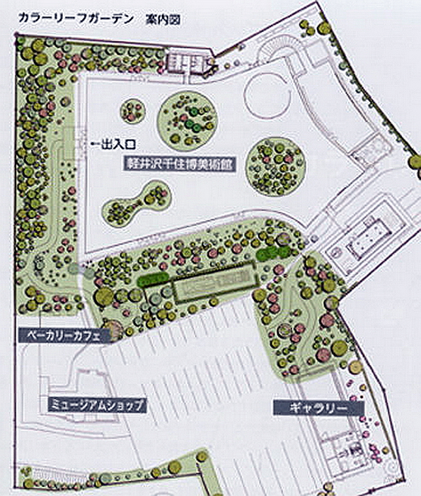 73.Нсидзава Рюэ.Художественный музей Сэндзю Хироси.План .jpg