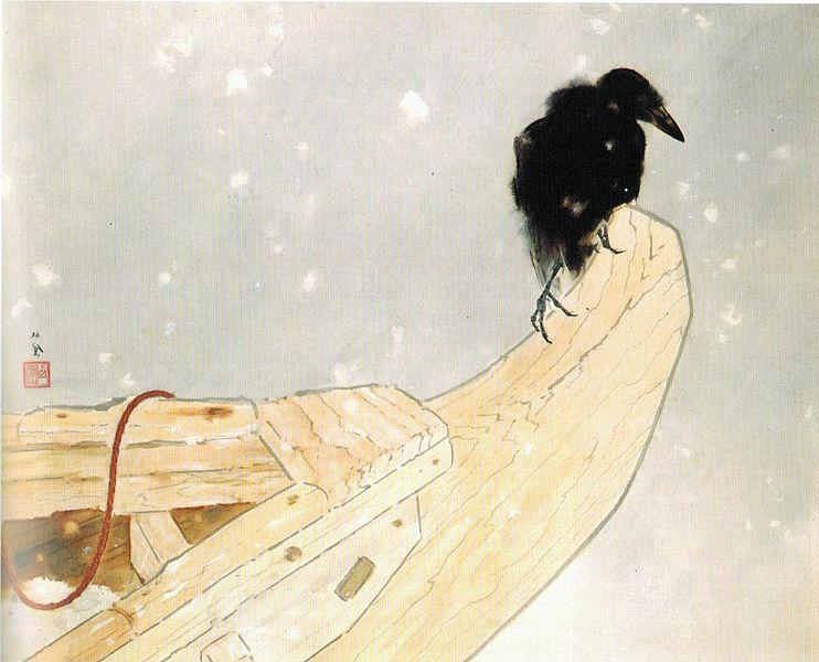 742px-'Spring_Snow'_(Shunsetsu)_by_Takeuchi_Seiho,_1942.jpg