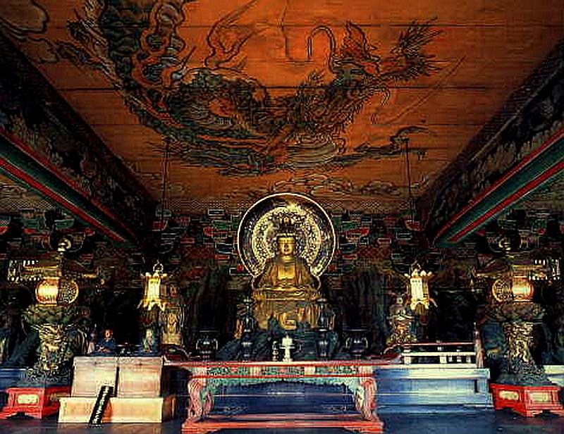 76.Нандзэн-дзи. Хатто, Будда Нёрай.jpg