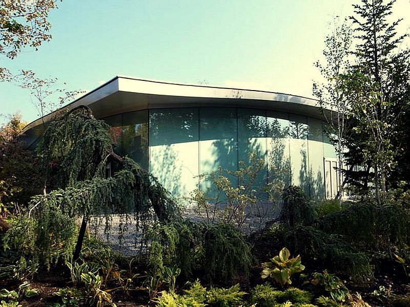 77.Нсидзава Рюэ.Художественный музей Сэндзю Хироси.Озеленение территории 2.jpg