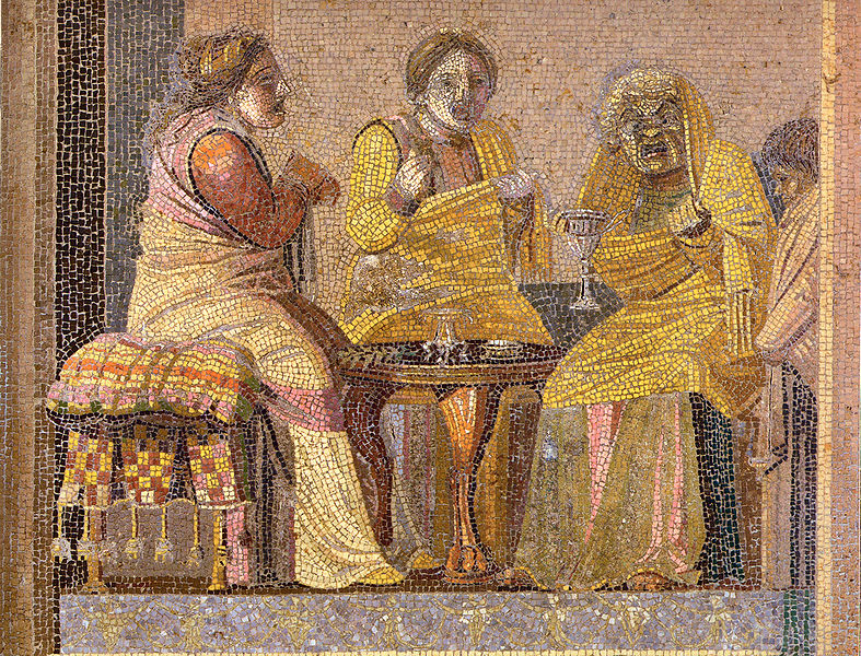 787px-Pompeii_-_Villa_del_Cicerone_-_Mosaic_-_MAN.jpg