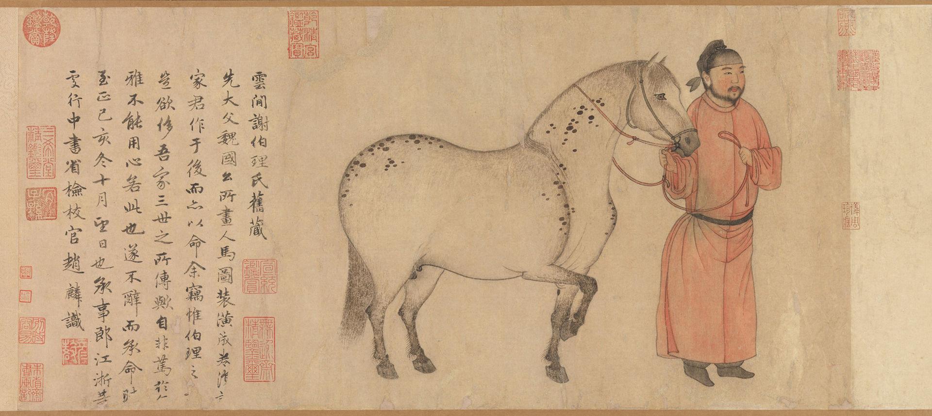 7c_Zhao_Mengfu_Man_and_Horse,_dated_1296_(30.2_x_178.1_cm);_Metropolitan_Mus._N-Y.jpg